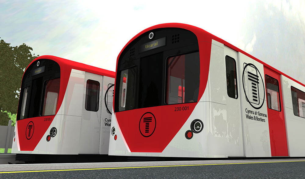 New order for Wales and Borders for Vivarail